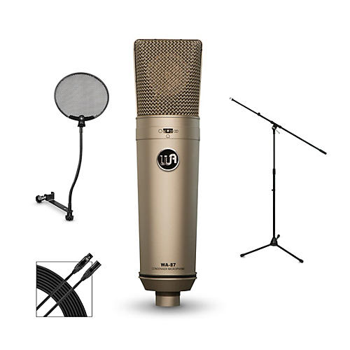 Warm Audio WA-87 Package with STPF1 Professional Pop Filter thumbnail