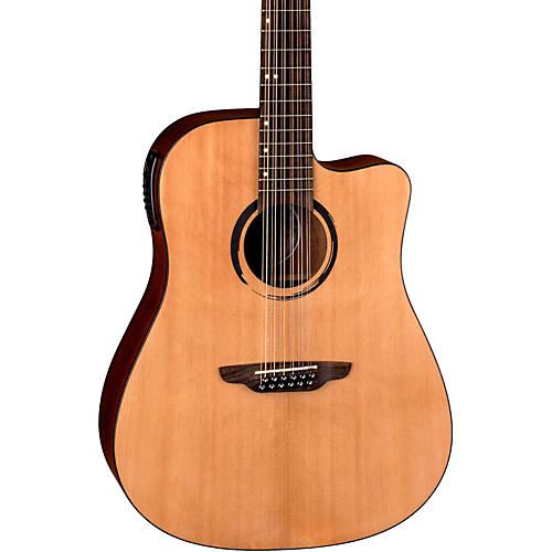 Luna Guitars WABI DC 12 Sabi 12-String Dreadnought Acoustic-Electric Guitar thumbnail