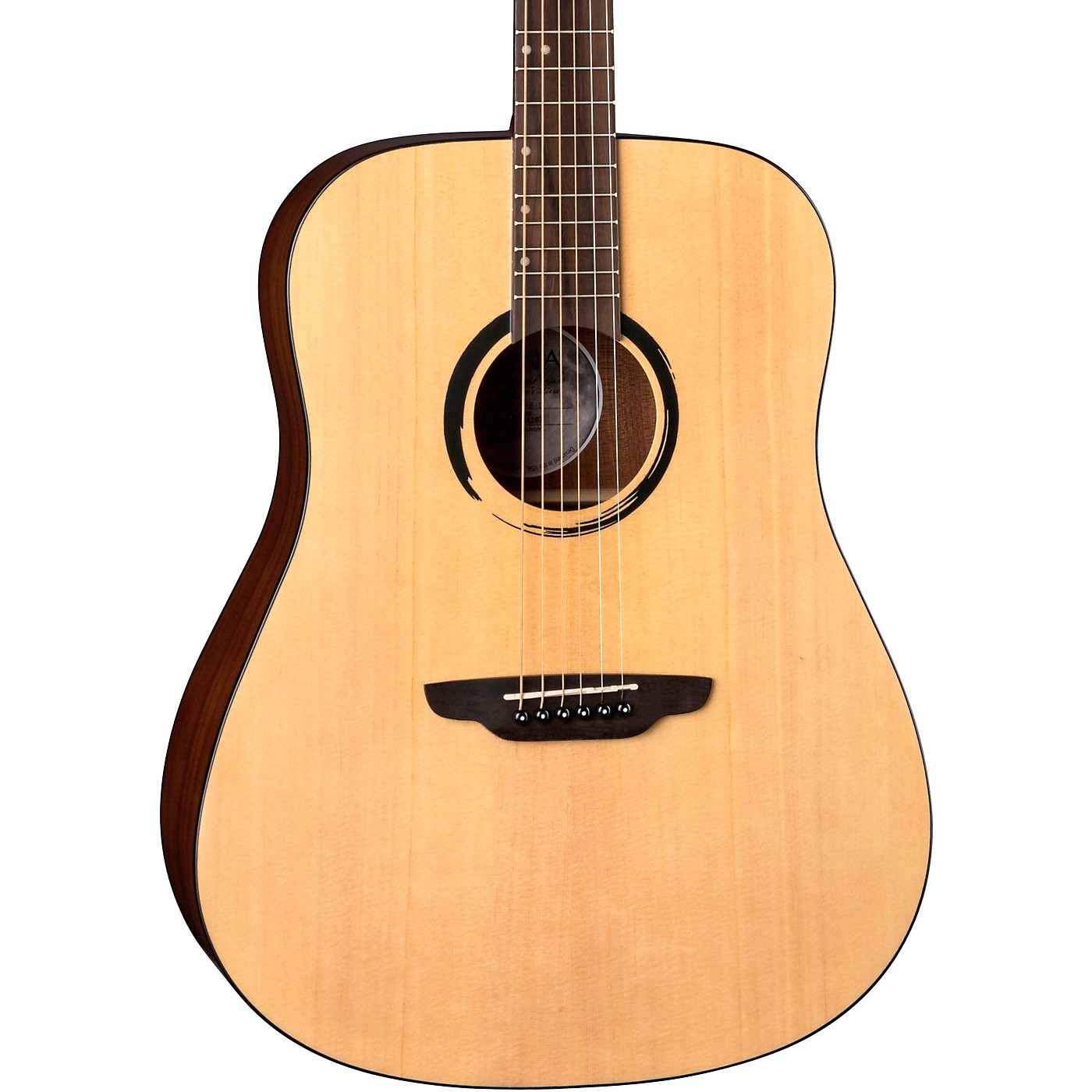 Luna Guitars WABI SABI Dreadnought Solid-Top Acoustic Guitar thumbnail