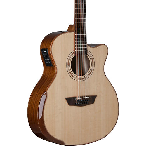 Washburn WCG15SCE12 12-String Acoustic-Electric Guitar thumbnail
