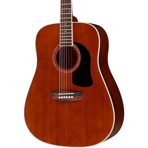 Washburn WD100DL Dreadnought Mahogany Acoustic Guitar thumbnail