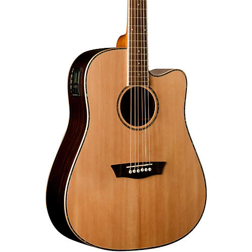 Washburn WD27SCE Dreadnought Acoustic-Electric Guitar thumbnail