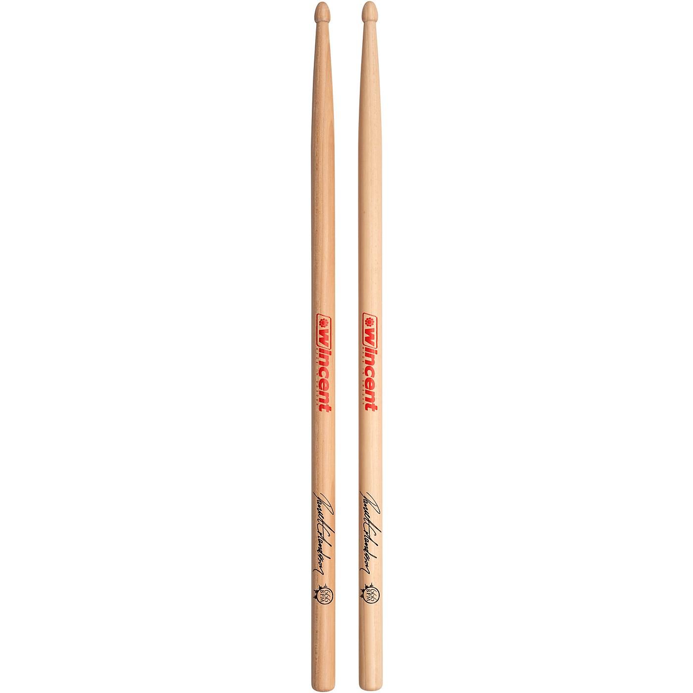 Wincent WDES Daniel Erlandsson 666 BPM Signature Drumsticks Sleeved thumbnail