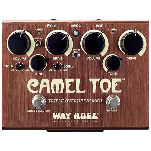 Way Huge Electronics WHE209 Camel Toe Triple Overdrive MKII thumbnail