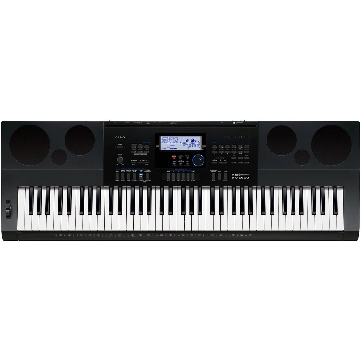 Casio WK-6600 76-Key Portable Keyboard thumbnail