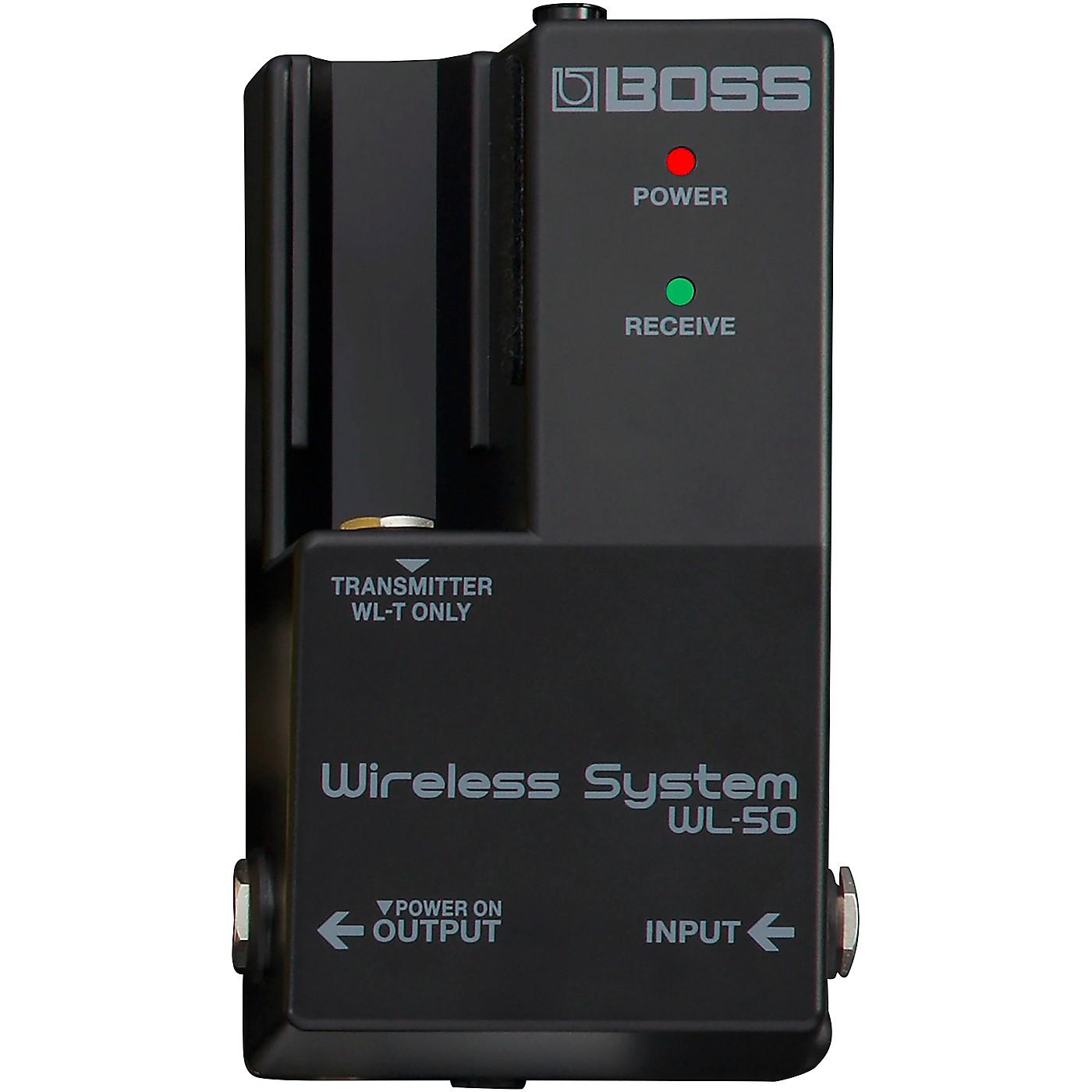 Boss WL-50 Guitar Wireless System thumbnail