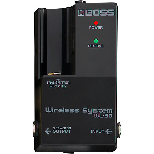 Boss WL-50 Guitar Wireless System thumbnail