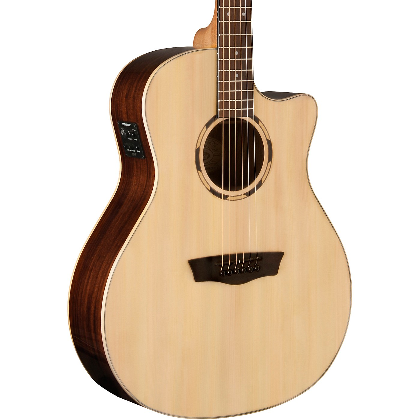 Washburn WLO2SCE Woodline 20 Series Acoustic-Electric Guitar thumbnail