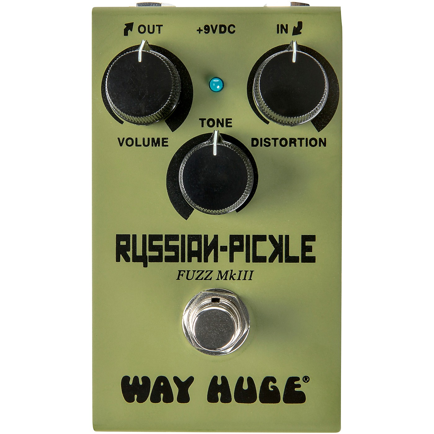 Way Huge Electronics WM42 Mini Russian Pickle Fuzz Effects Pedal thumbnail