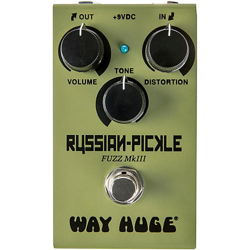 Way Huge Electronics WM42 Mini Russian Pickle Fuzz Effects Pedal thumbnail