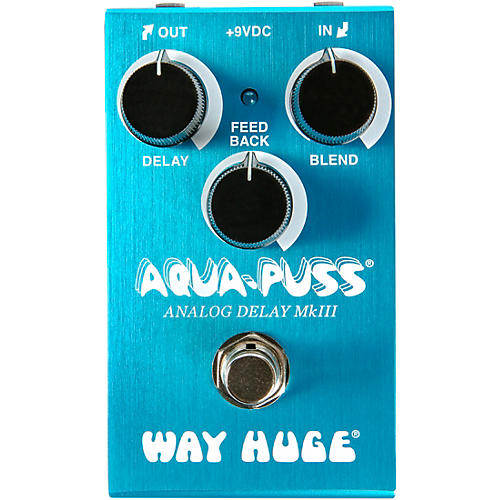 Way Huge Electronics WM71 Mini Aqua-Puss Analog Delay Effects Pedal thumbnail