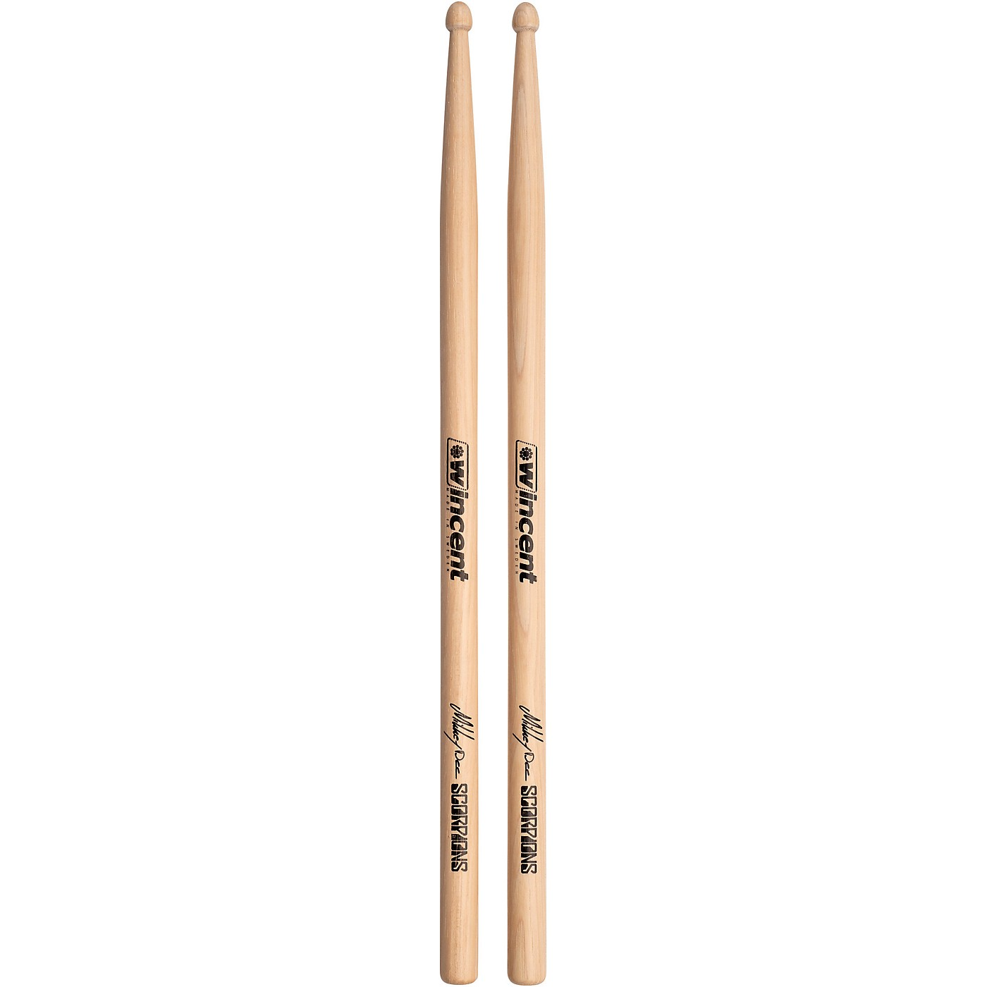 Wincent WMDS Mikkey Dee Scorpions Signature Drumsticks Sleeved thumbnail