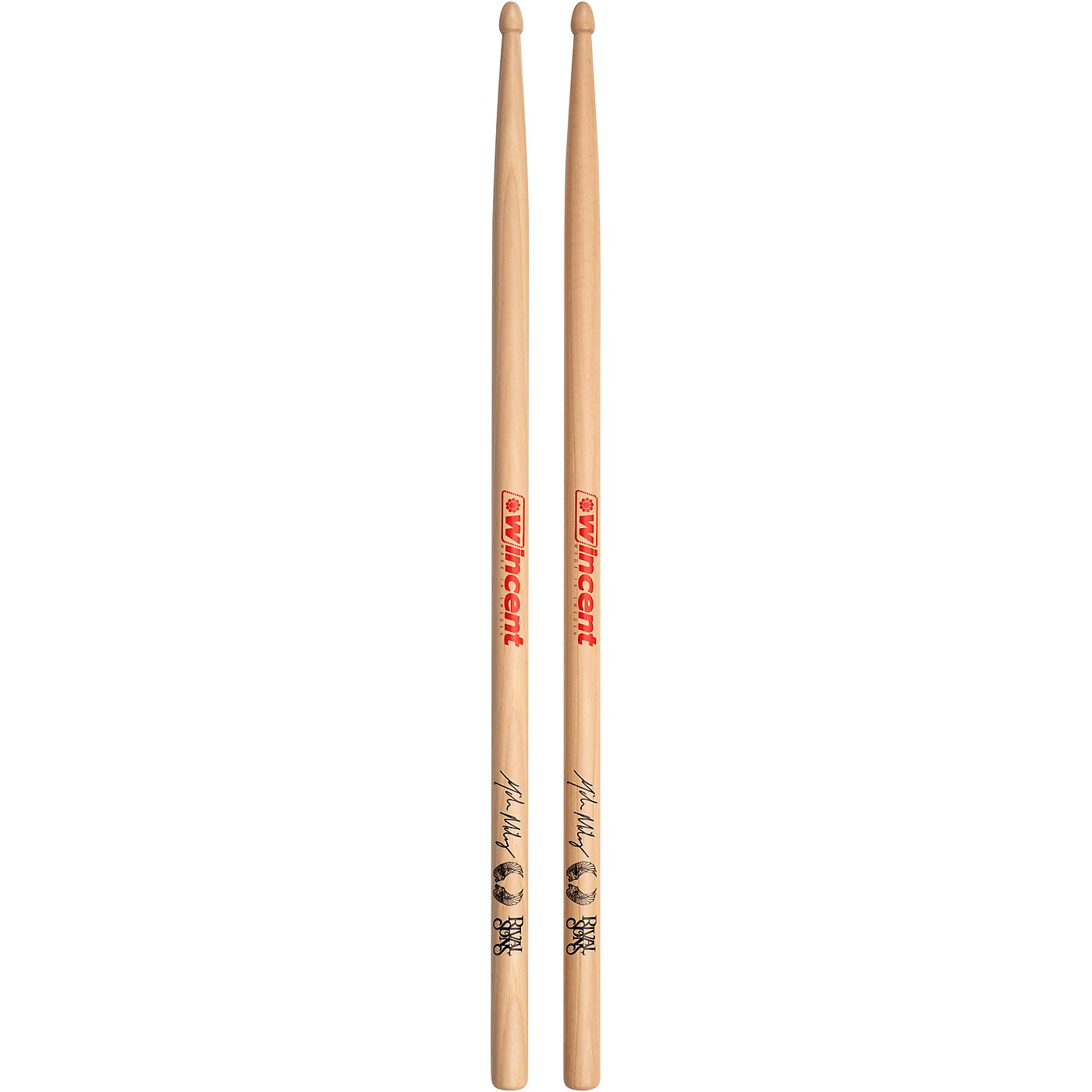 Wincent WMMS Michael Miley Drumsticks (Pair) thumbnail