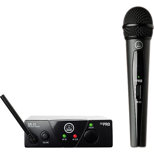 AKG WMS 40 Mini Vocal Wireless System-thumbnail