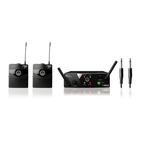 AKG WMS 40 Mini2 Instrument Wireless Microphone Set thumbnail