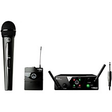AKG WMS 40 Mini2 Vocal/Instrument Wireless Microphone Set with D8000M Handheld