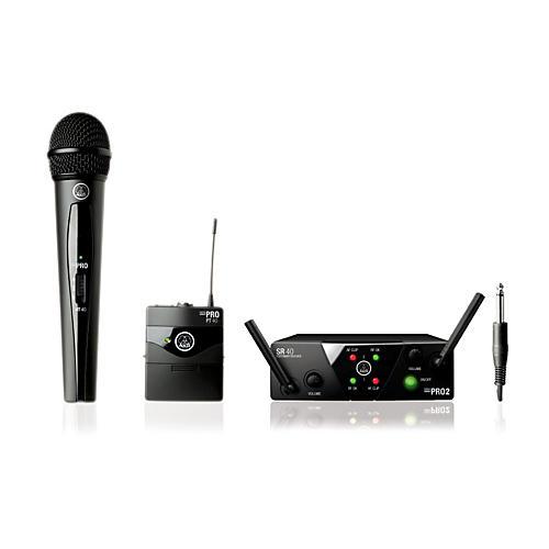 AKG WMS 40 Mini2 Vocal/Instrument Wireless Microphone Set thumbnail