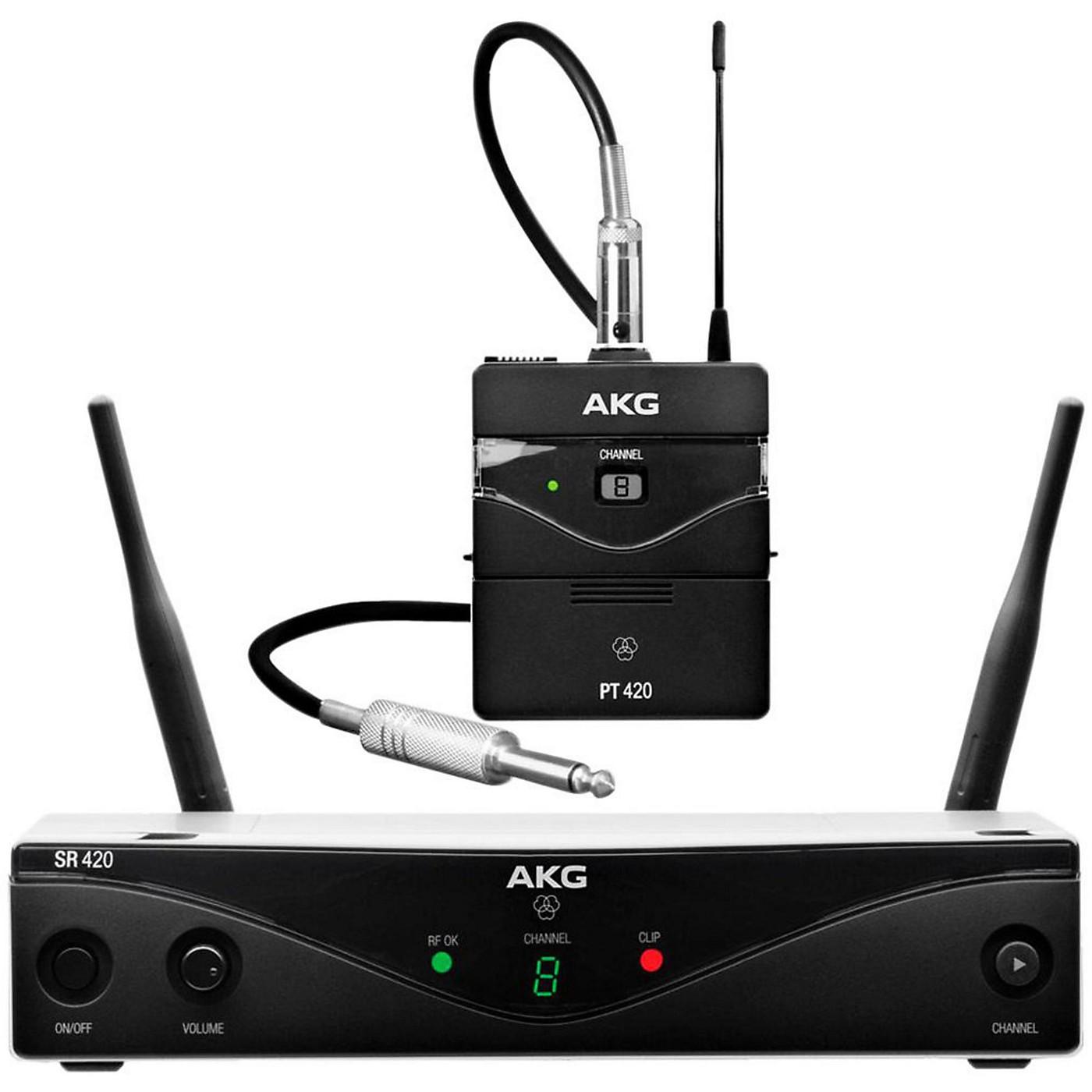 AKG WMS420 Wireless System - Instrument thumbnail