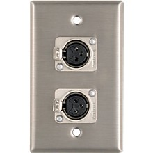 Pro Co WP1013 Dual XLR Female Wall Plate
