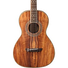 Washburn WP55 Parlor Koa Acoustic Guitar