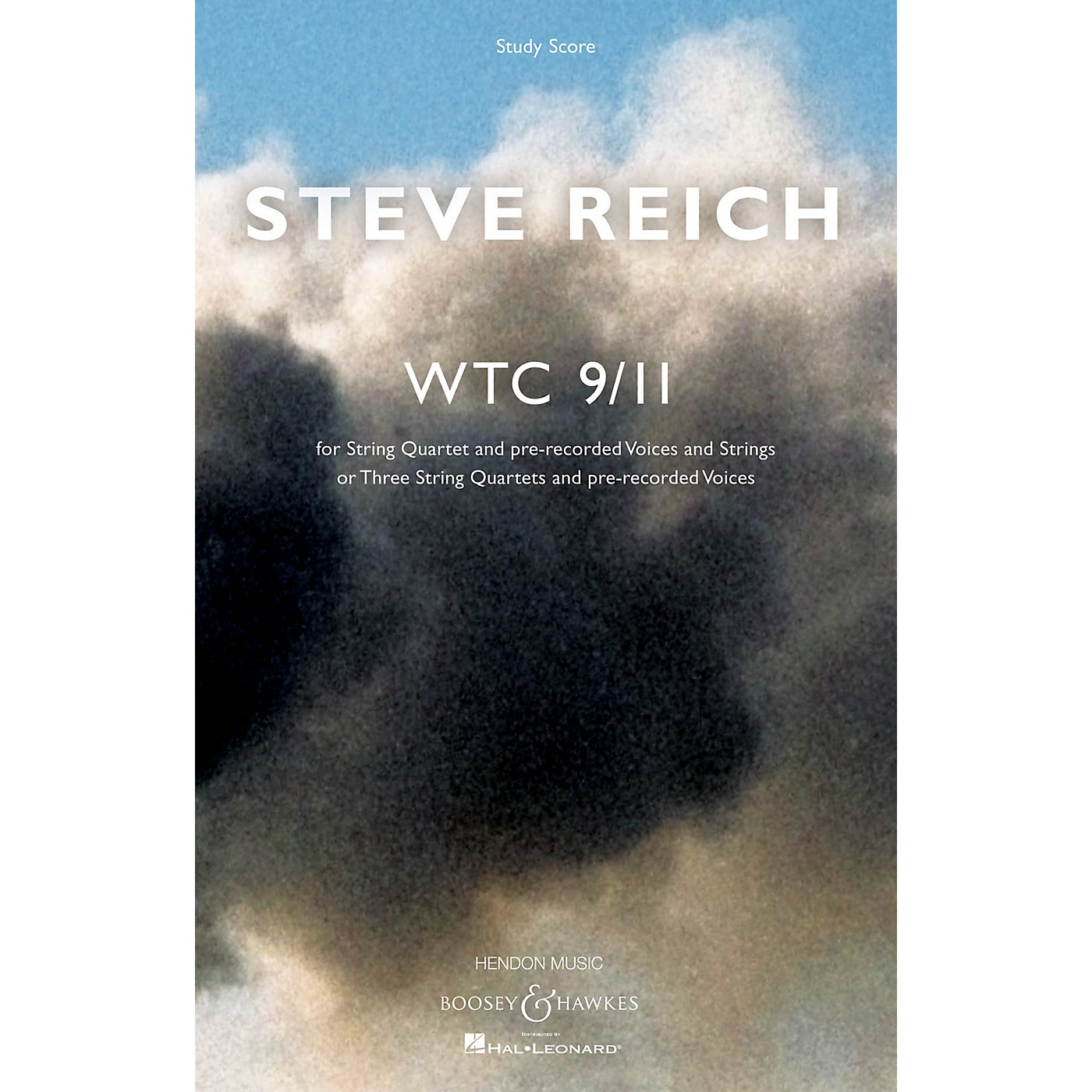 Boosey and Hawkes WTC 9/11 Boosey & Hawkes Scores/Books Series Composed by Steve Reich thumbnail