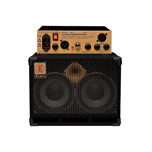 Eden WTX500 Bass Head Gold with D210XST 2x10 Cab 8ohm thumbnail