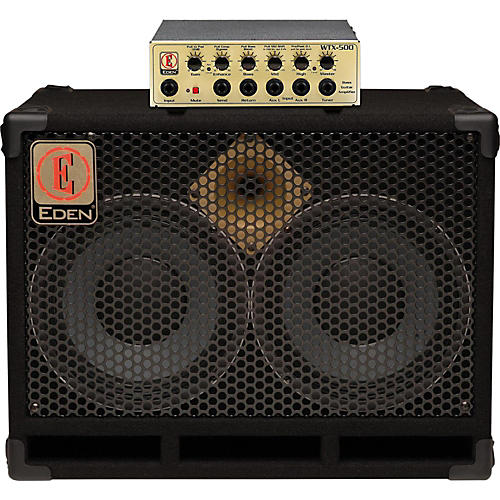 Eden WTX500 and D210XST Bass Stack-thumbnail