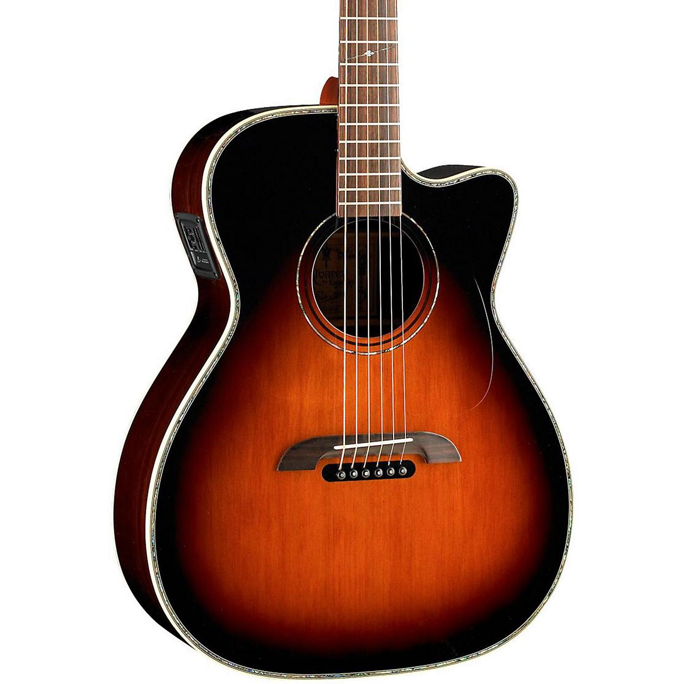 Alvarez WY1TS Yairi Stage OM/Folk Acoustic-Electric Guitar thumbnail