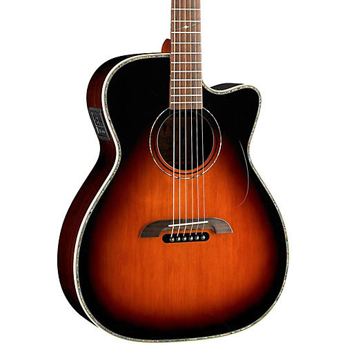 Alvarez WY1TS Yairi Stage OM/Folk Acoustic-Electric Guitar thumbnail