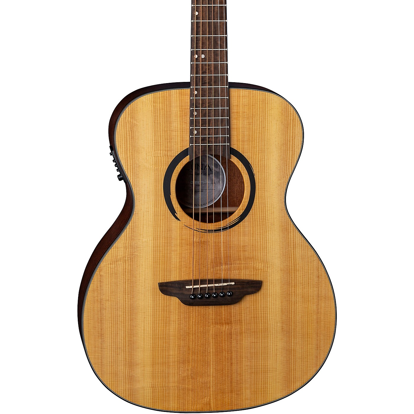 Luna Guitars Wabi Sabi Solid Top Acoustic-Electric Folk Guitar thumbnail