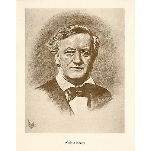 Music Sales Wagner (Lupas Large Portrait Poster) Music Sales America Series thumbnail
