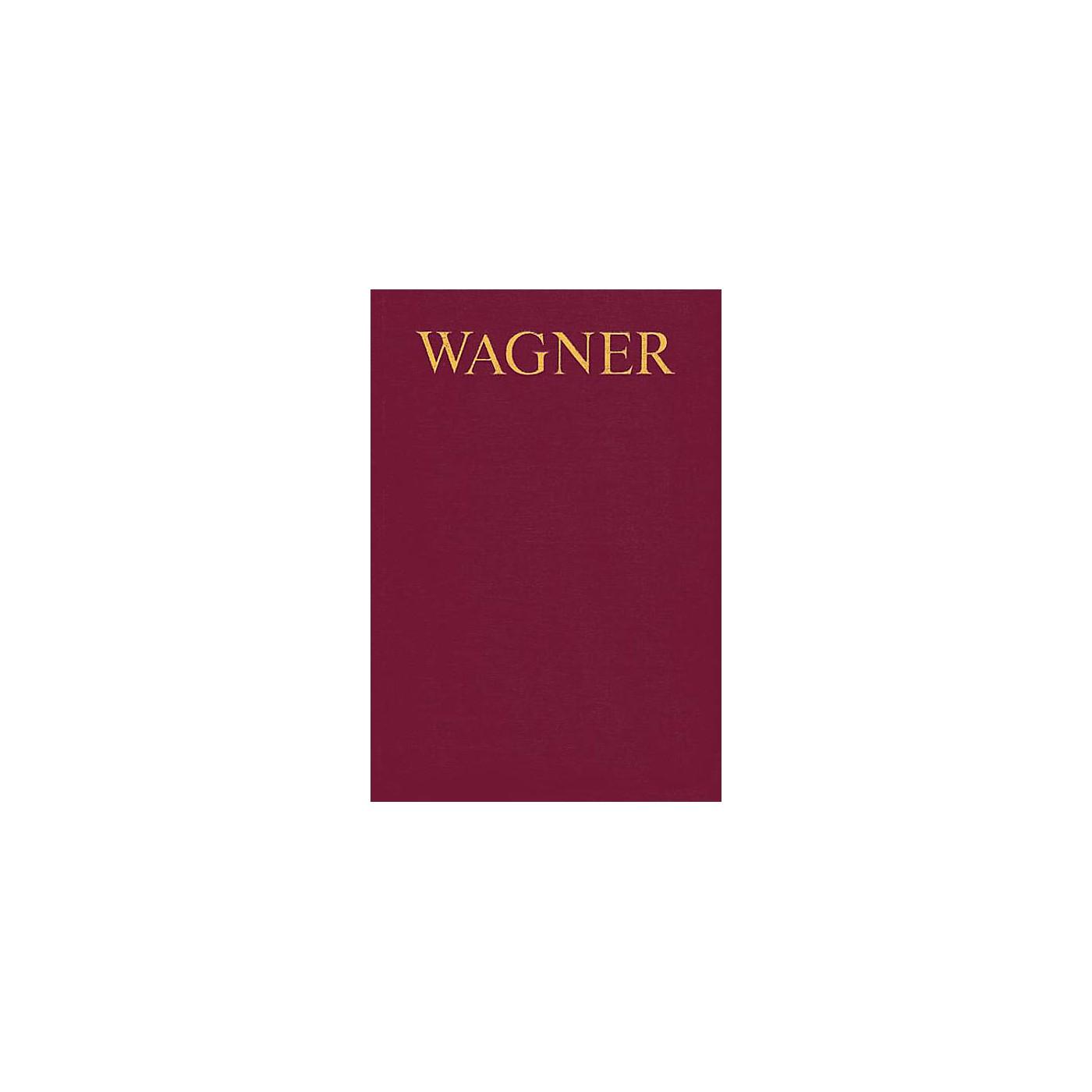 Schott Wagner Werkverzeichnis (German Text) Schott Series thumbnail