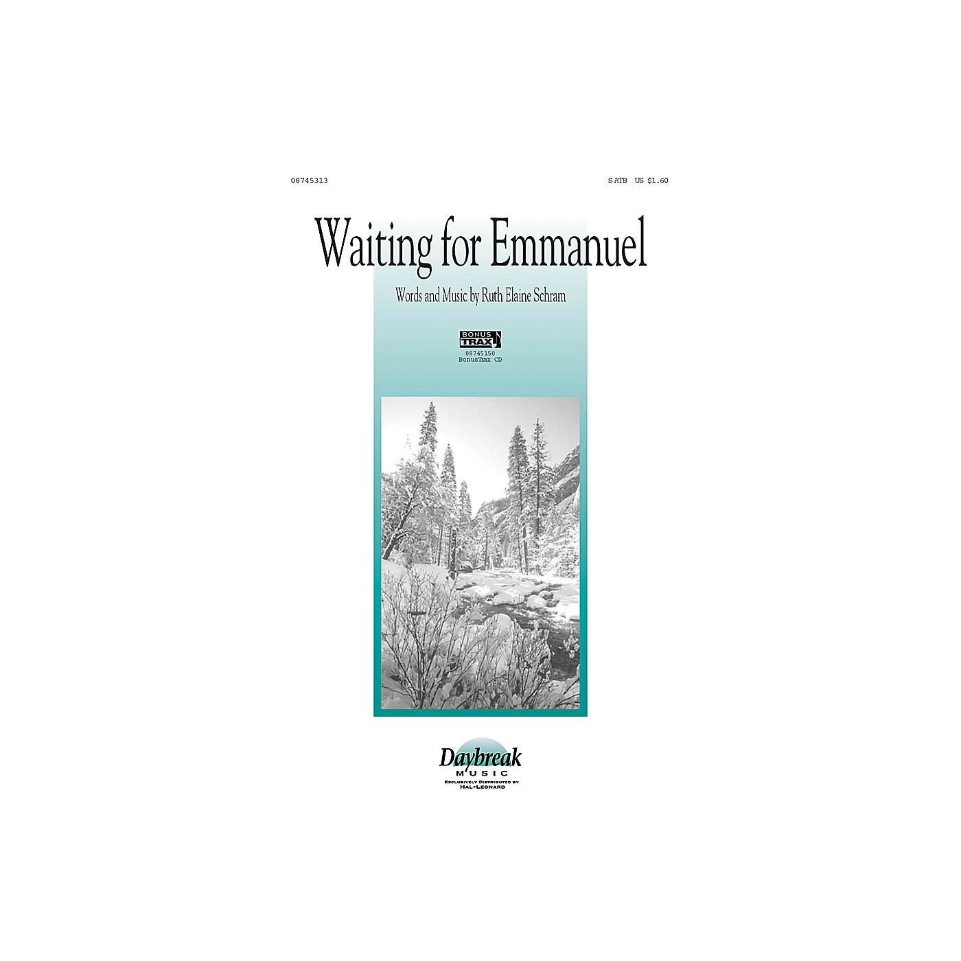 Daybreak Music Waiting for Emmanuel SATB arranged by Ruth Elaine Schram thumbnail