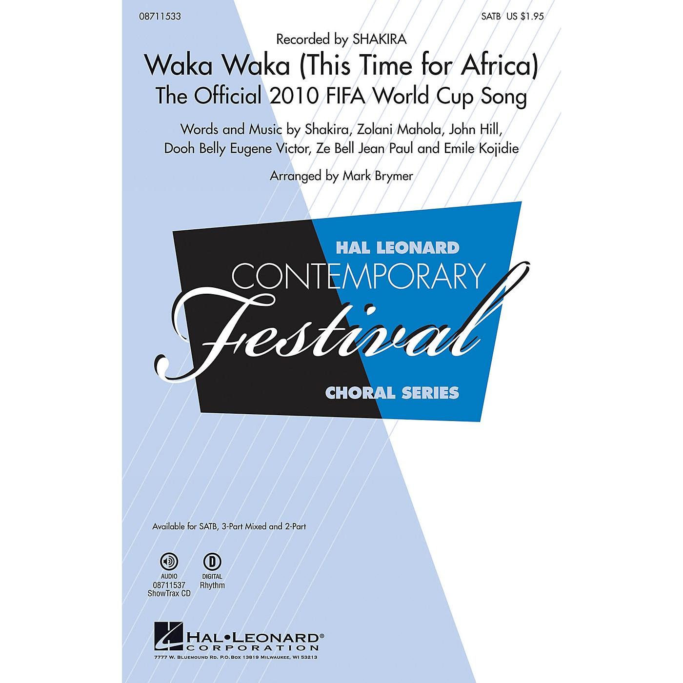 Hal Leonard Waka Waka 2-Part by Shakira Arranged by Mark Brymer thumbnail