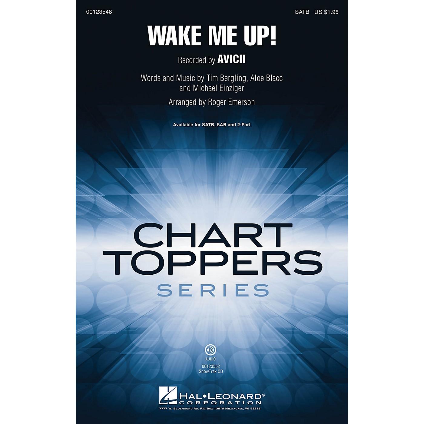 Hal Leonard Wake Me Up! SAB by Avicii Arranged by Roger Emerson thumbnail