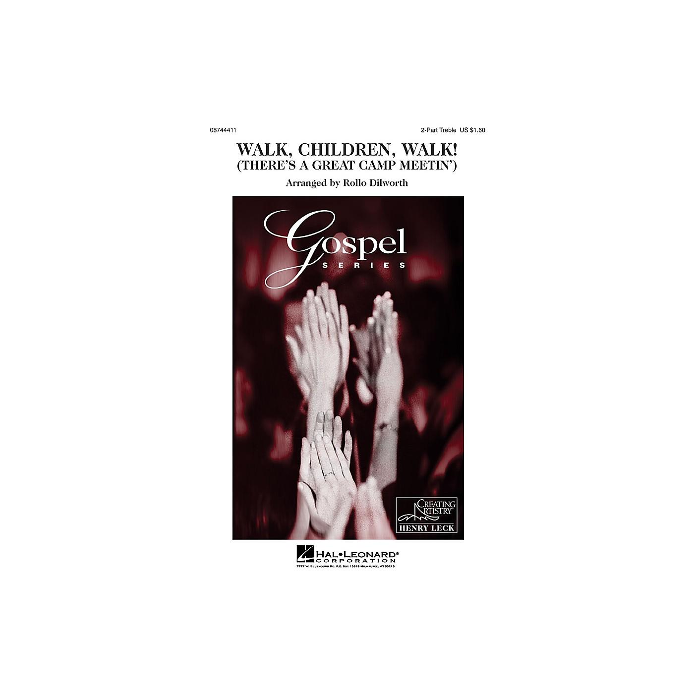 Hal Leonard Walk, Children, Walk! 2-Part arranged by Rollo Dilworth thumbnail