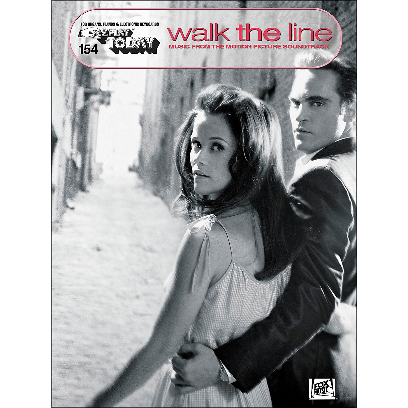 Hal Leonard Walk The Line Music From The Motion Picture Soundtrack E-Z Play 154 thumbnail