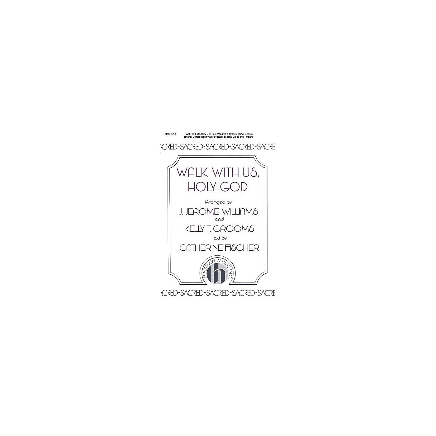 Hinshaw Music Walk With Us, Holy God SAB arranged by J. Jerome Williams thumbnail