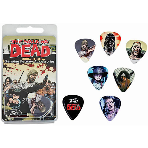 Peavey Walking Dead Characters Pick 12-Pack thumbnail