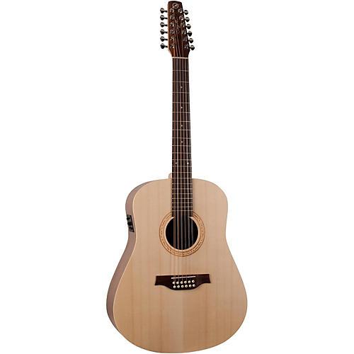 Seagull Walnut 12 SG 12-String Acoustic-Electric Guitar thumbnail