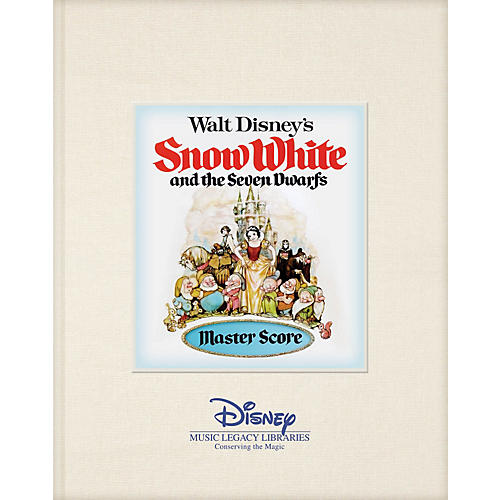 Hal Leonard Walt Disney's Snow White and the Seven Dwarfs Disney Master Score Series Hardcover Written by Various thumbnail