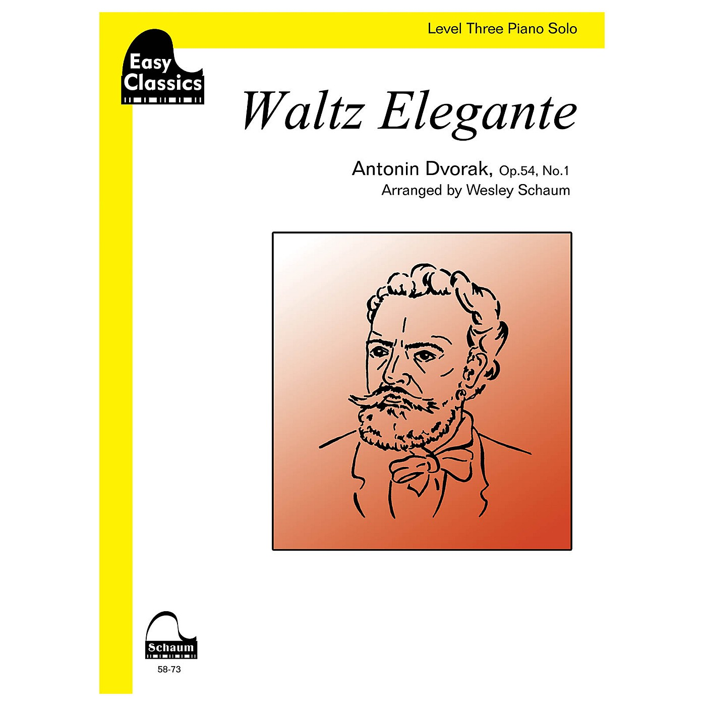 SCHAUM Waltz Elegante Educational Piano Series Softcover thumbnail