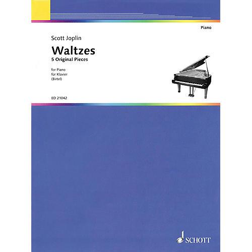 Schott Waltzes (5 Original Pieces) Schott Series Composed by Scott Joplin Edited by Wolfgang Birtel thumbnail