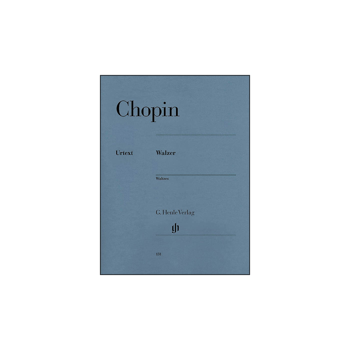 G. Henle Verlag Waltzes By Chopin thumbnail