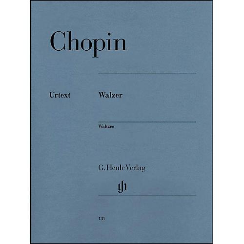 G. Henle Verlag Waltzes By Chopin thumbnail