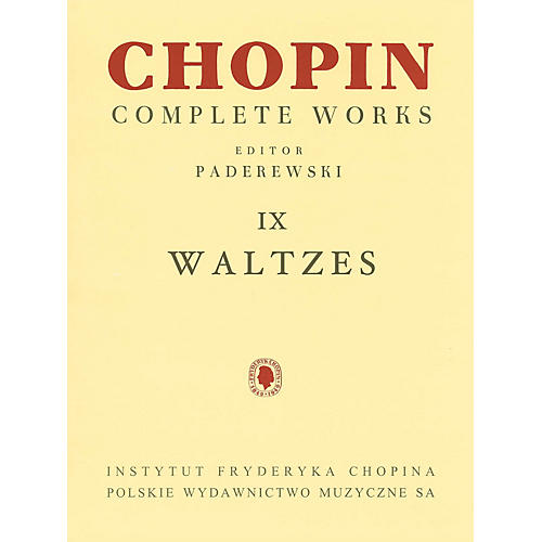 PWM Waltzes (Chopin Complete Works Vol. IX) PWM Series Softcover thumbnail