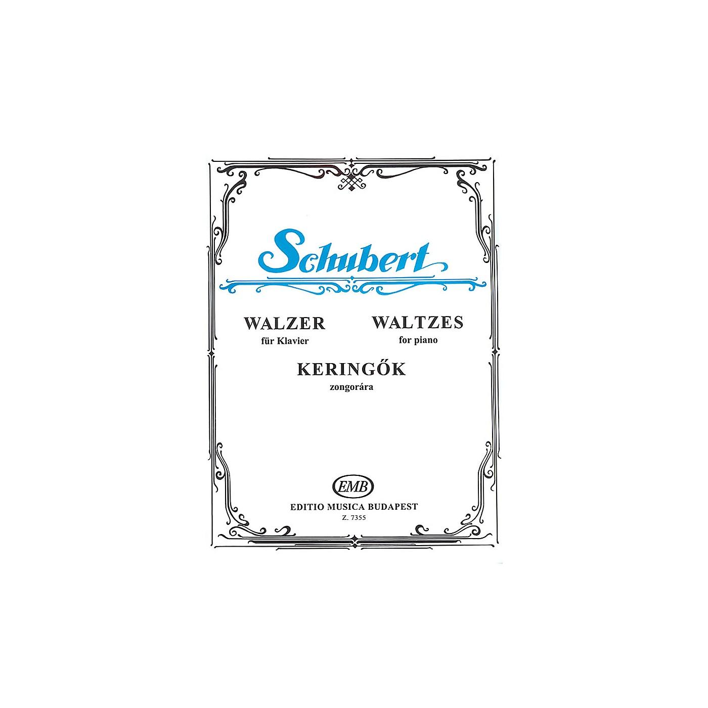 Editio Musica Budapest Waltzes-pno EMB Series by Franz Schubert thumbnail