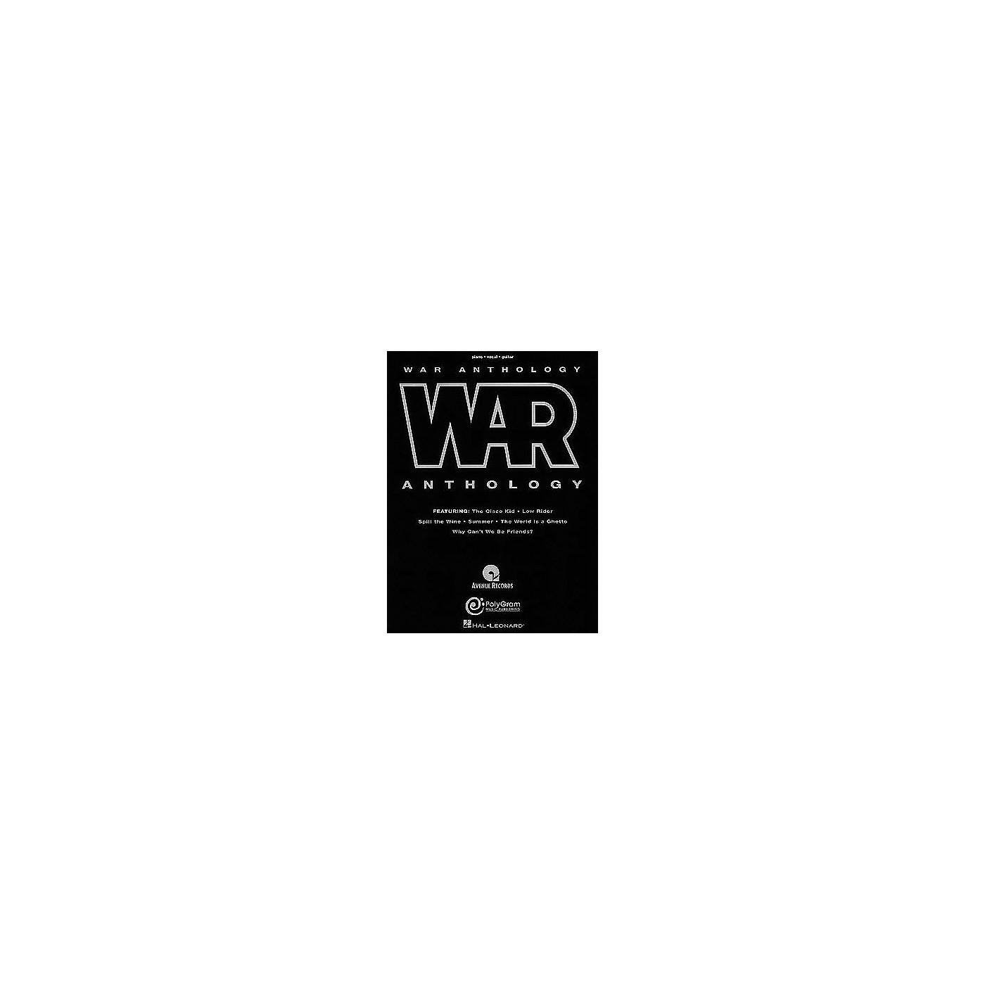 Hal Leonard War Anthology Songbook thumbnail