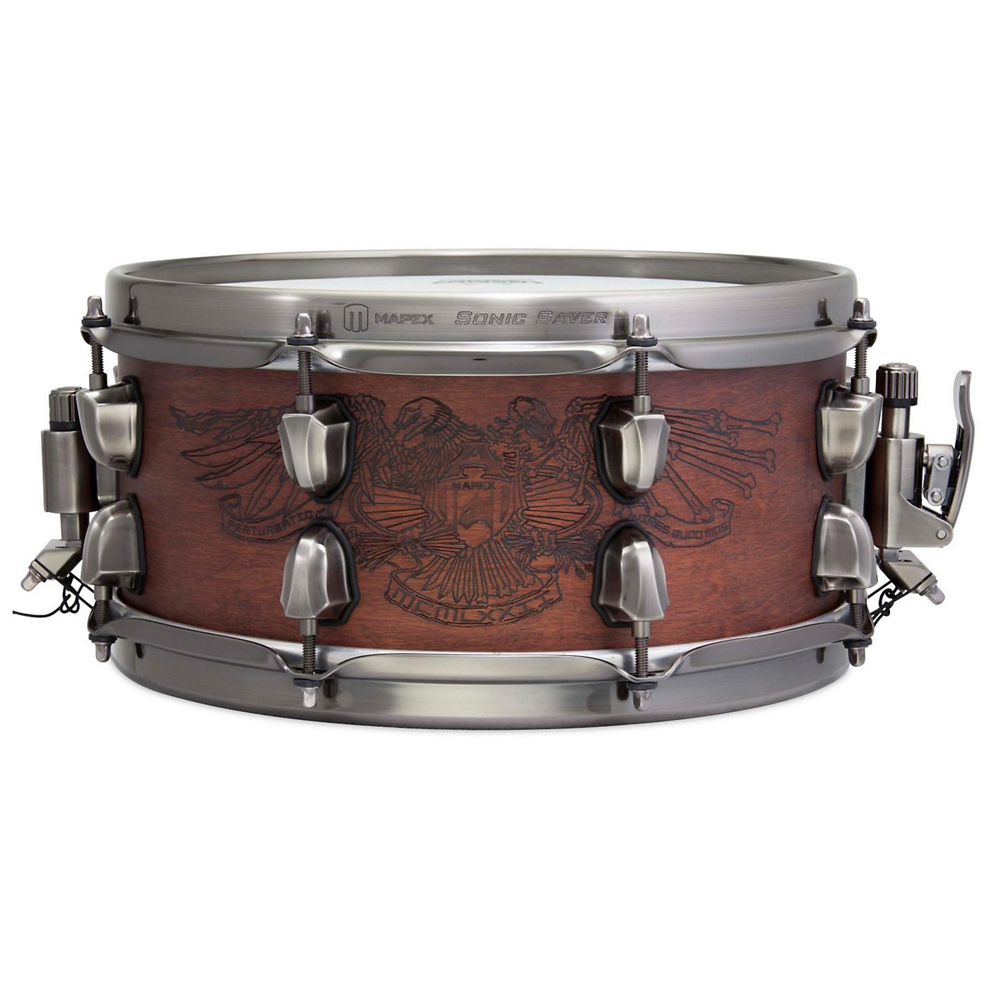 Mapex Warbird Chris Adler Artist Inspired Black Panther Snare Drum thumbnail