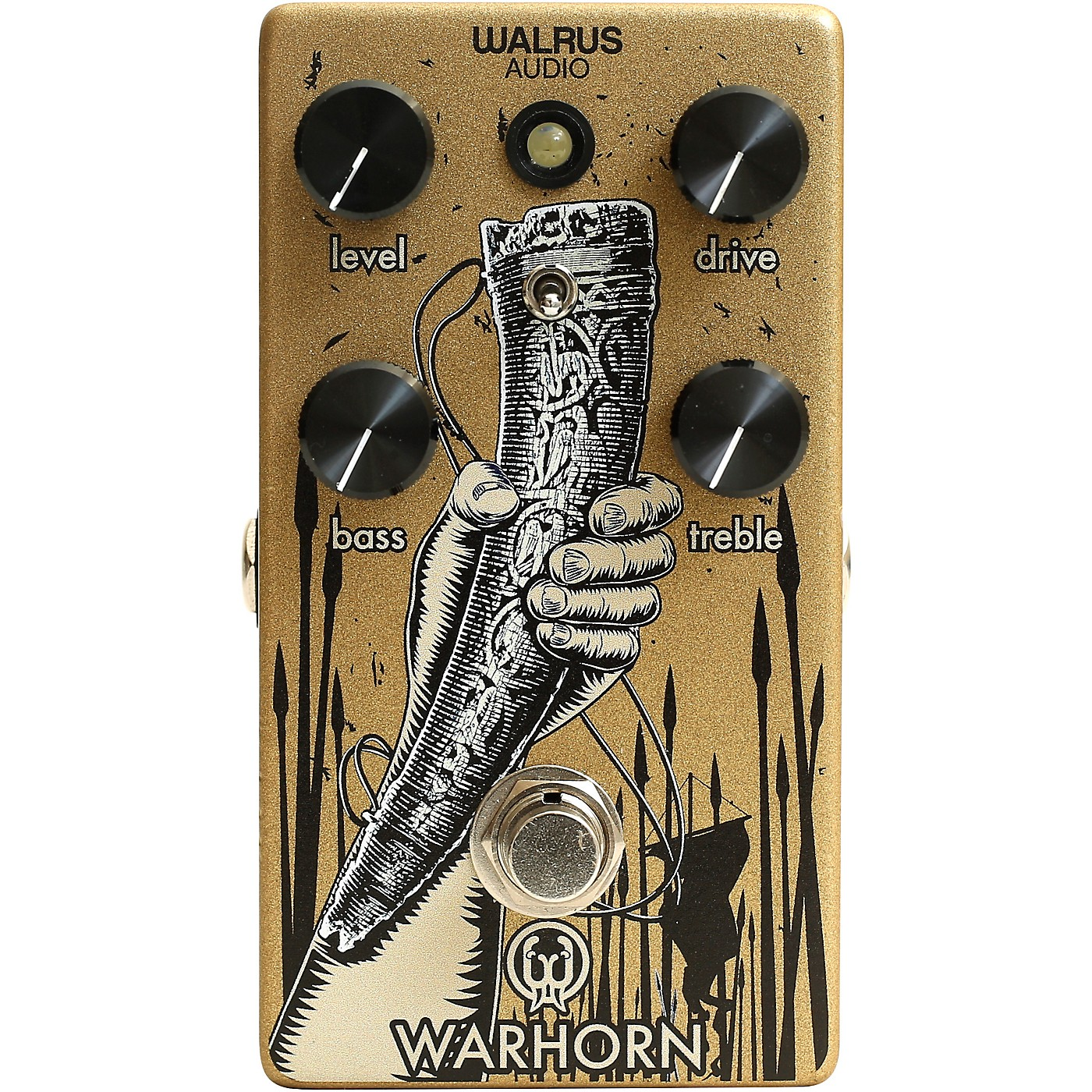Walrus Audio Warhorn Overdrive Pedal thumbnail